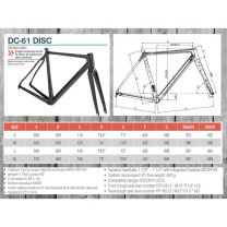 Dedacciai race frame kit DC-61 Disc