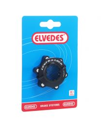 Elvedes center lock CNC + ring zw